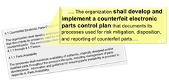 Newly Revised Counterfeit Avoidance Standard SAE AS5553 B along with SAE ARP6328 Published